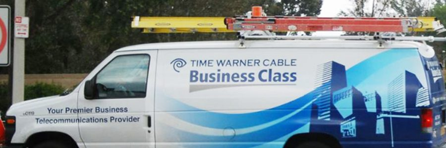 Time Warner Cable Business Class Service Van