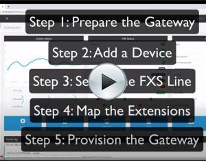 VIDEO TUTORIAL: Patton FXS Gateways and 3CX